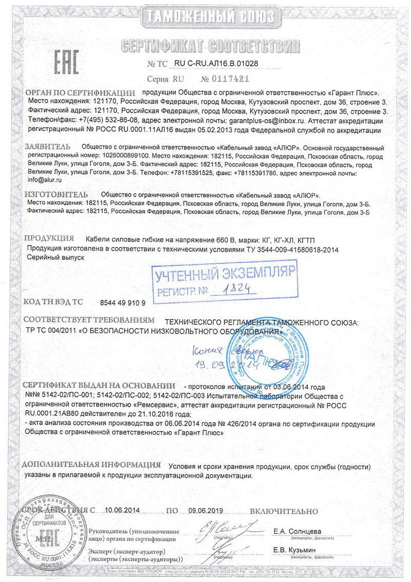 сертифика