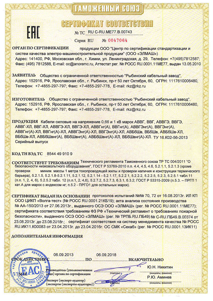 сертификат авббшв