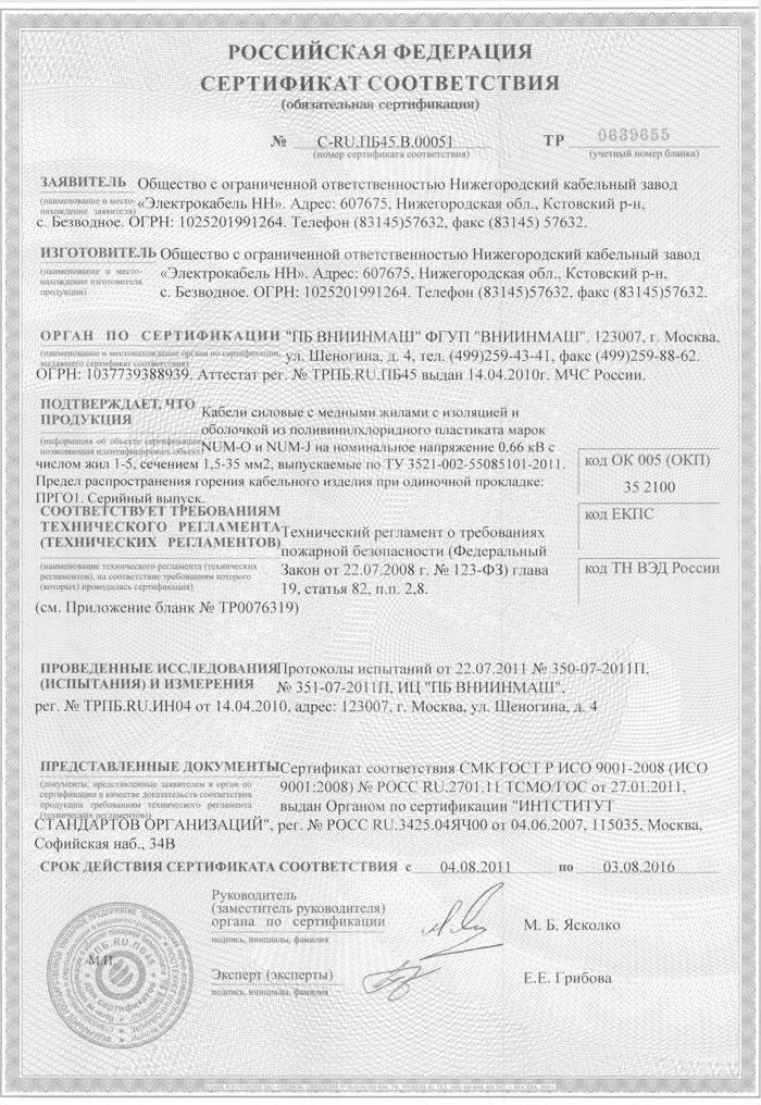 сертификат-nym